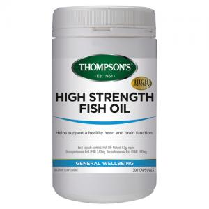 汤普森 高含量鱼油 Thompson's High Strength Fish Oil 200C